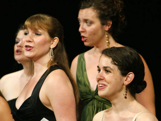 Sarah Chasey (Nazareth College), Lauren Schultes (UNC-Chapel Hill), Clare FitzGerald (UNC-Chapel Hill), and Kinneret Ely (Manhattan School of Music) sing Donizetti - 2008.